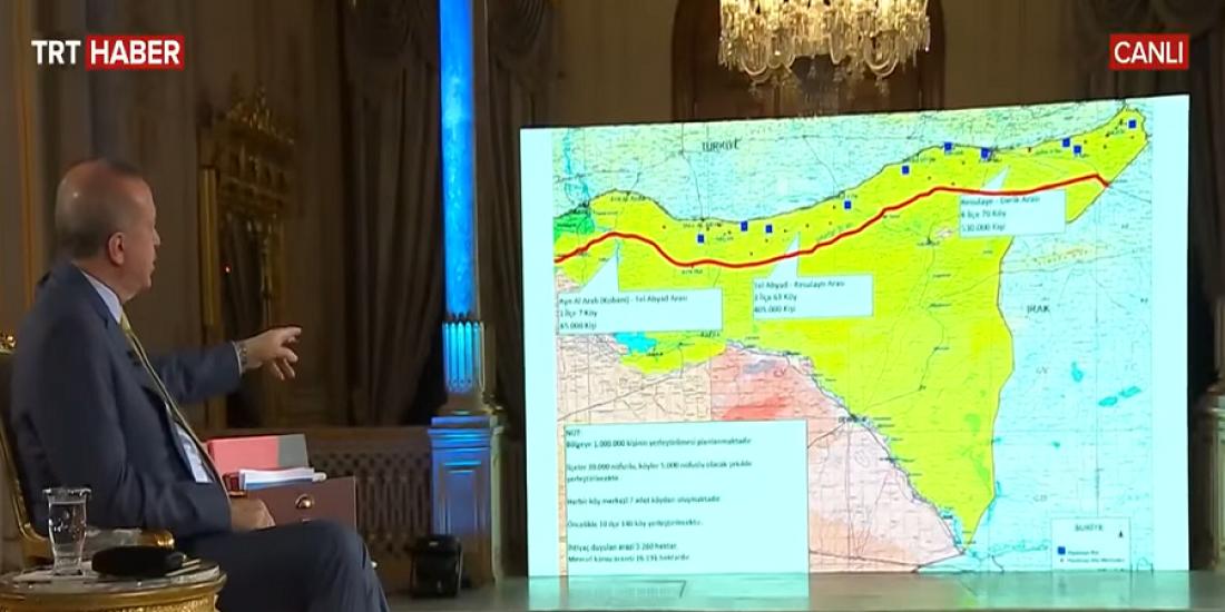 Ο Ερντογάν προανήγγειλε γεωτρήσεις ανοιχτά της Κρήτης