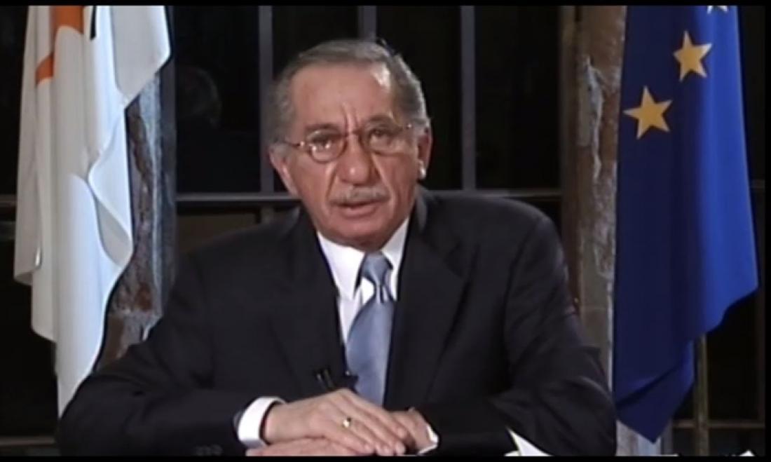 Σαν σήμερα πέθανε ο Τάσσος Παπαδόπουλος, ο ηγέτης που είπε «ΟΧΙ» στο σχέδιο Ανάν (ΒΙΝΤΕΟ)