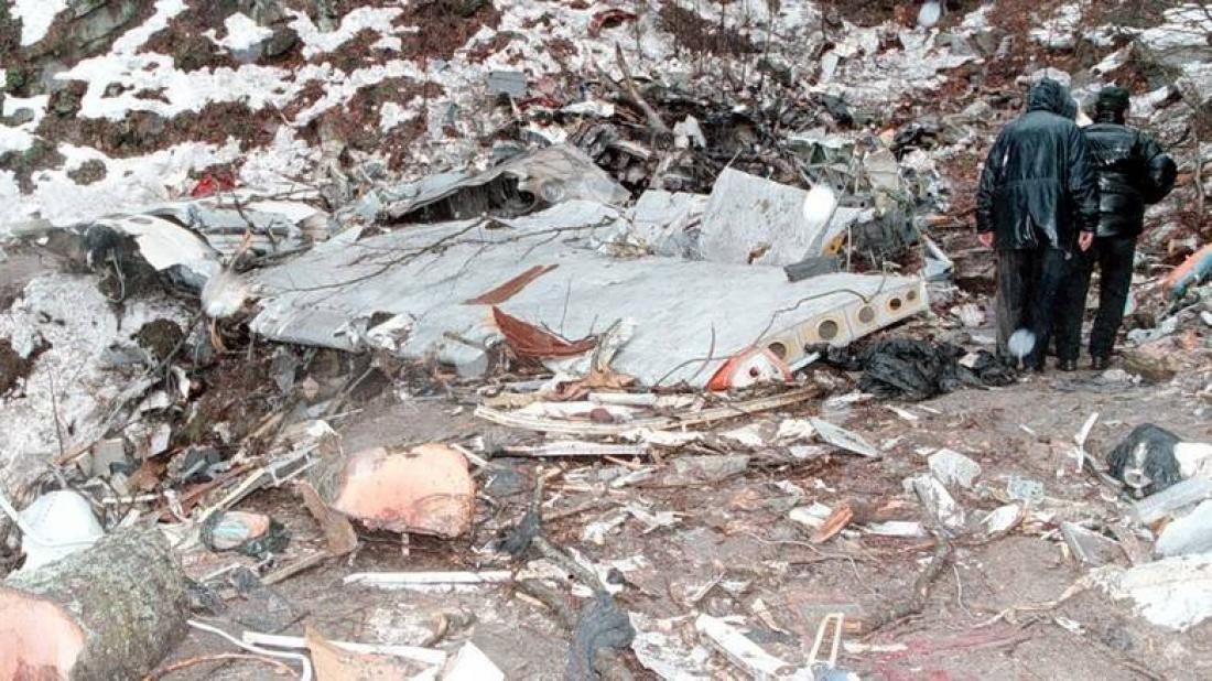 Σαν σήμερα17 Δεκεμβρίου 1997 συντριβή ουκρανικό αεροπλάνου στα Πιέρια Όρη