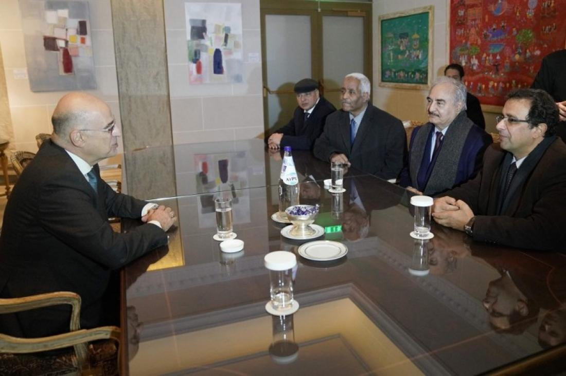 Το παρασκήνιο της επίσκεψης του Χ. Χαφτάρ στην Αθήνα - Τι ζήτησε