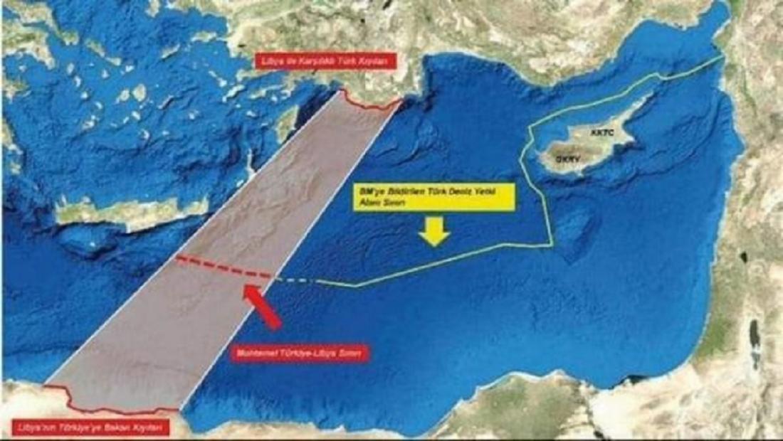 Αναρτώνται από τον ΟΗΕ οι συντεταγμένες ΑΟΖ, με βάση το Τουρκολιβυκό σύμφωνο