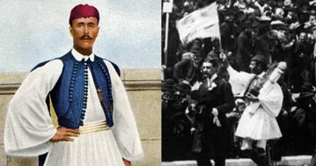 Σαν σήμερα26 Μαρτίου 1940πέθανε ο Ολυμπιονίκης Σπύρος Λούης