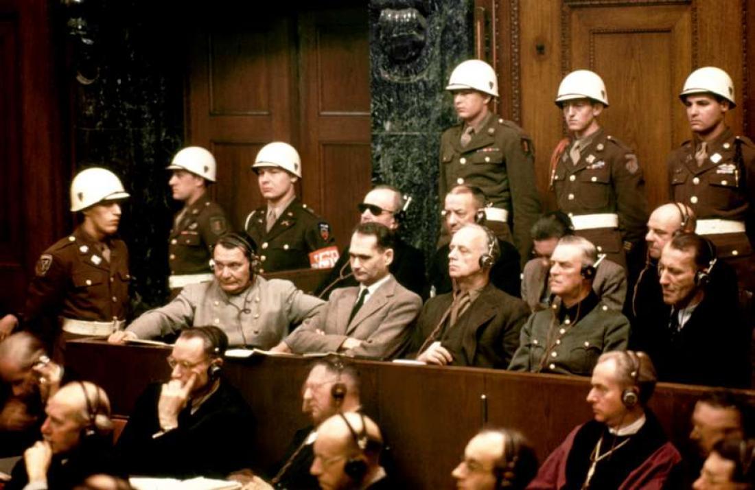 Σαν σήμερα20 Νοεμβρίου 1945 αρχίζει η Δίκη της Νυρεμβέργης
