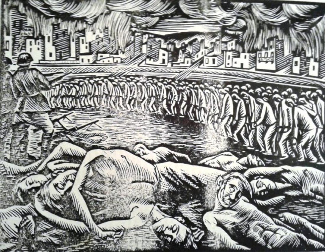 Σαν σήμερα26 Νοεμβρίου1943 οι ναζί εκτελούν στο Μονοδένδρι Λακωνίας 118 Έλληνες ομήρους