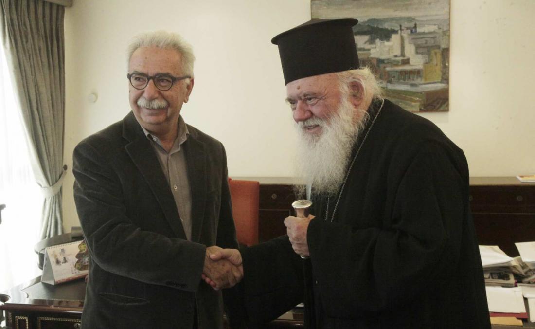 Συνάντηση Ιερώνυμου-Γαβρόγλου: Έχουμε πολλά και καλά να κάνουμε