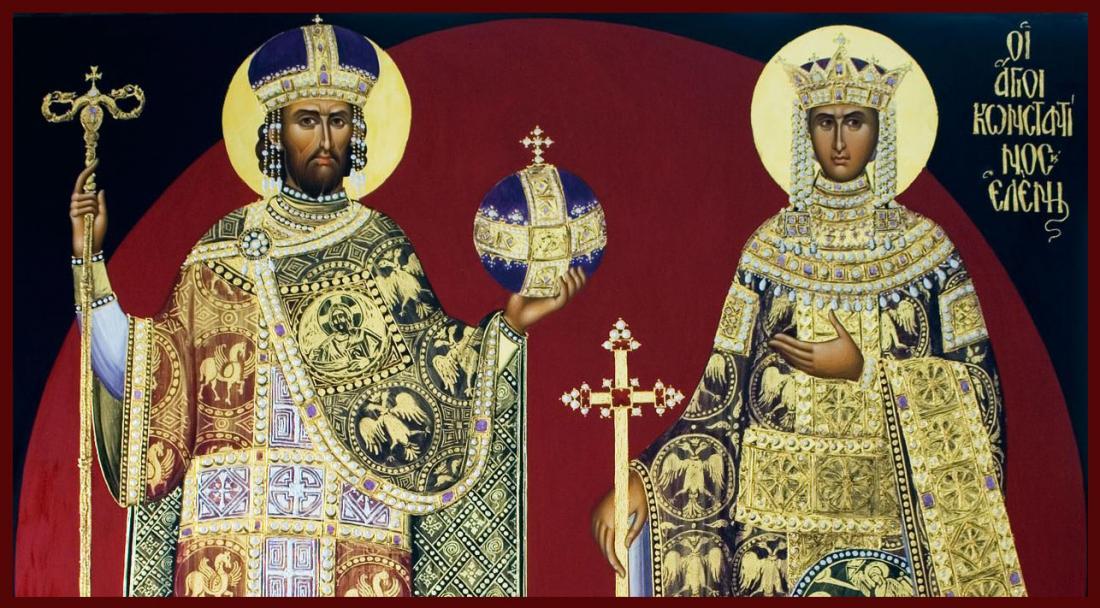 Άγιοι Κωνσταντίνος και Ελένη οι Ισαπόστολοι-Ο βίος τους και η ...