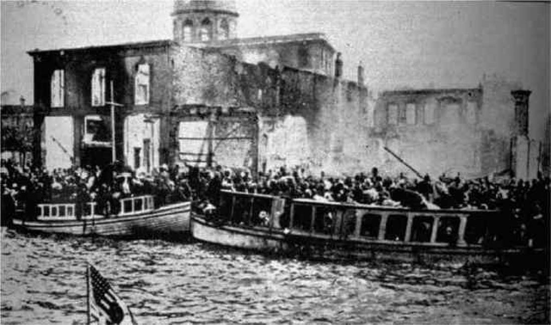 Σαν σήμερα: 13 Σεπτεμβρίου 1922 - Η πυρπόλυση της Σμύρνης