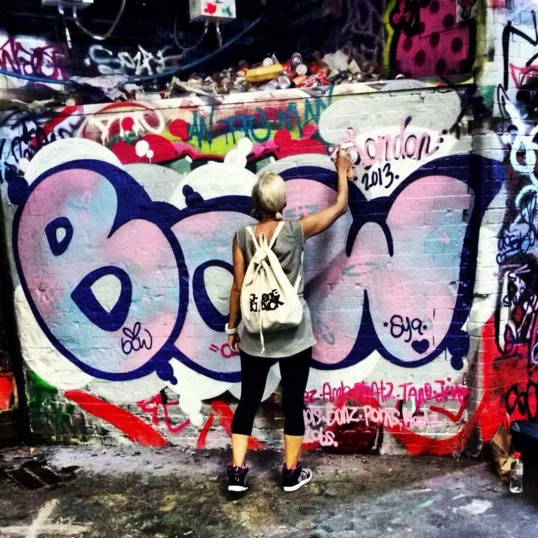 Φυλάκιση σε νεαρό που έφτιαχνε γκράφιτι στα Χανιά, παρόλο που είχε άδεια από τον δήμο