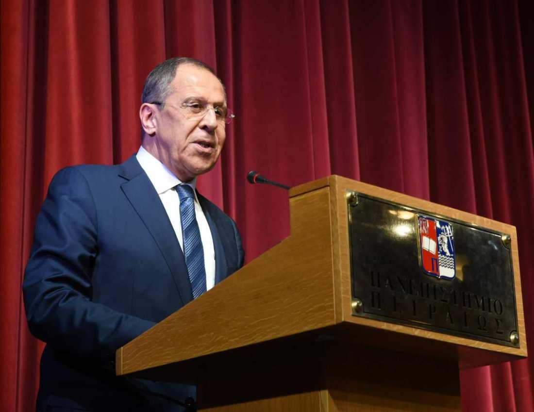 Λαβρόφ: Πάντα τηρούμε τον λόγο μας, αυτό είναι παράδοση της διπλωματίας μας
