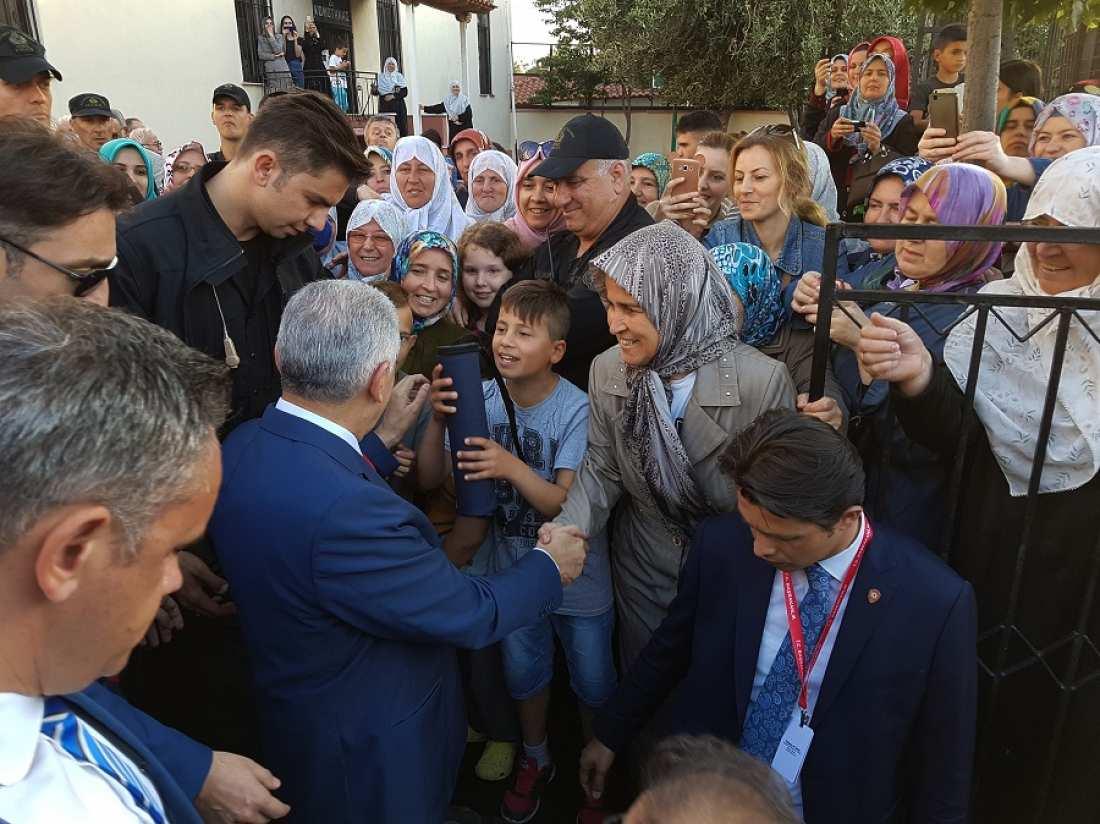 Προκαλεί από Κομοτηνή ο Γιλντιρίμ: Μου είπε ο Ερντογάν να σας πω ότι είστε ομογενείς μας πολίτες της Ελλάδας!