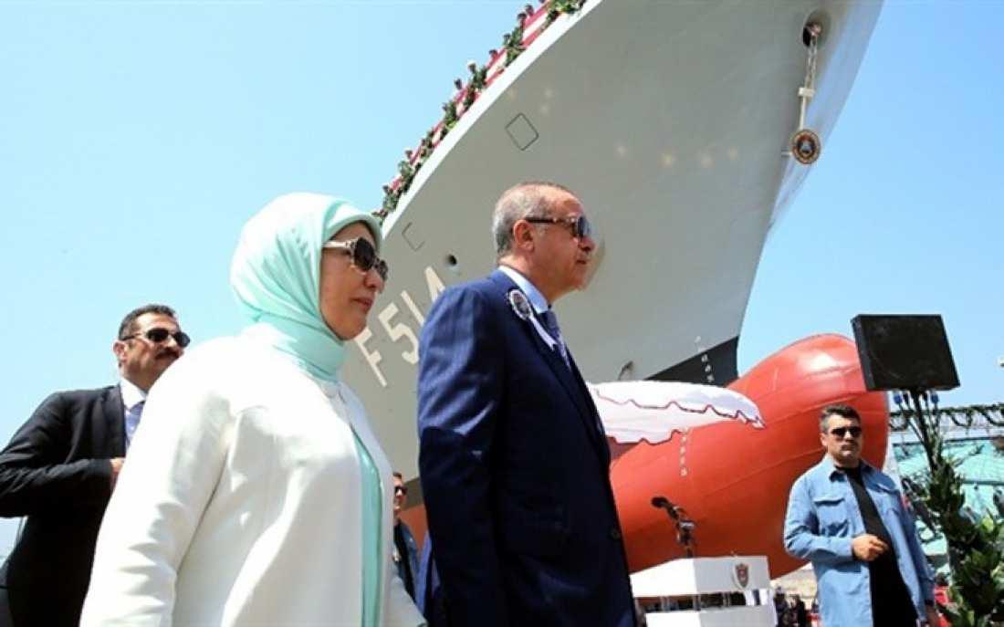 Ερντογάν: Η ναυτική μας δύναμη θα μεγαλώσει-Κανείς δεν μπορεί να εμποδίσει τις στρατιωτικές πρωτοβουλίες μας!