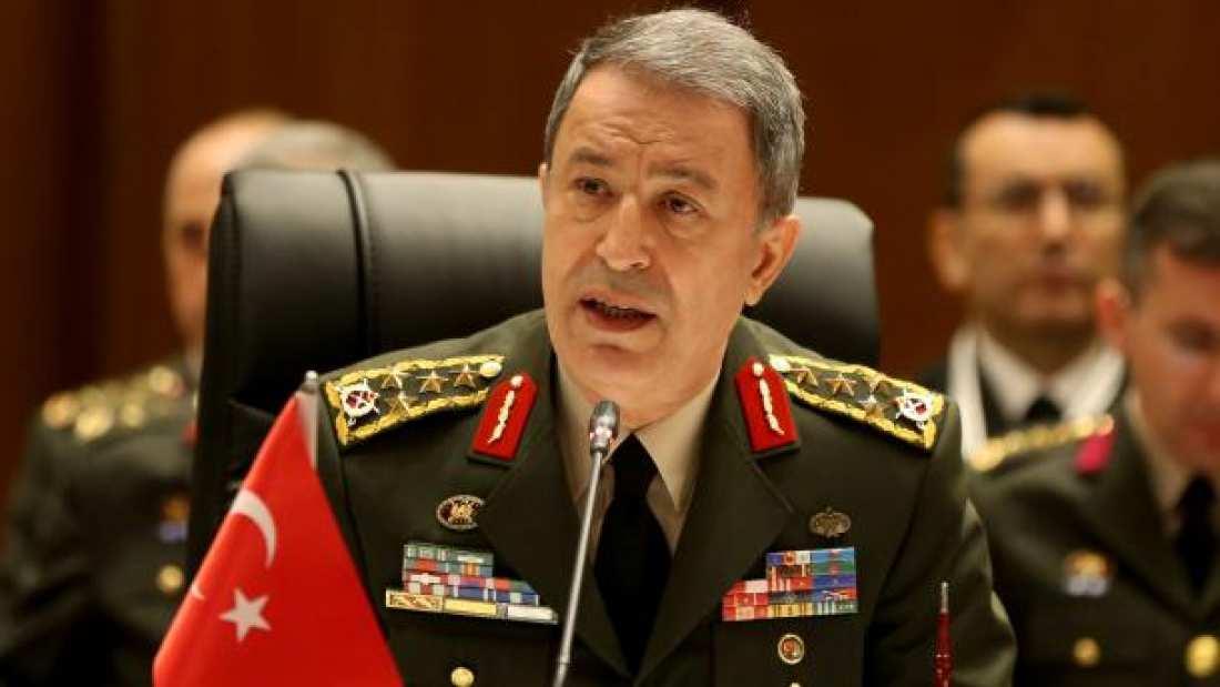 """Ο Τούρκος επιτελάρχης στην Αθήνα και τα αεροσκάφη του """"χαμένα"""" από το Αιγαίο"""