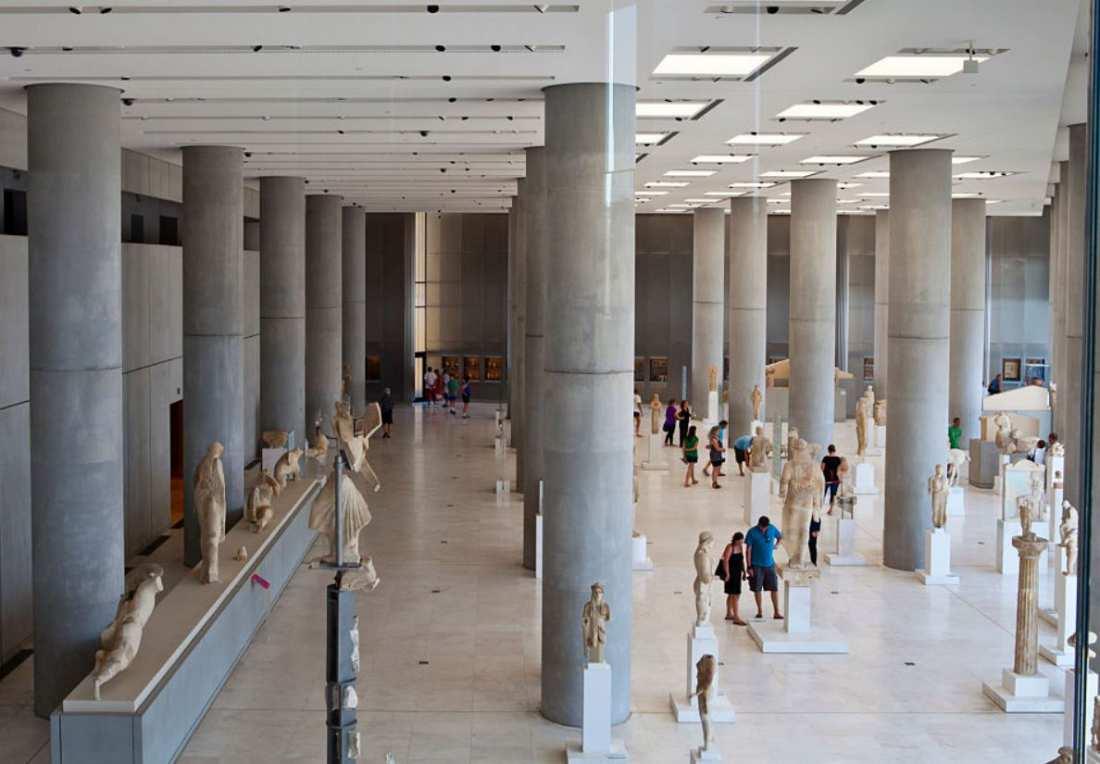 Ανοιχτοί και με ελεύθερη είσοδο οι εκθεσιακοί χώροι του μουσείου από τις 9 το πρωί ως τις 8 το βράδυ