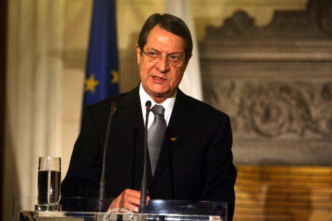 Κυπριακό: Διάγγελμα Αναστασιάδη προς τον κυπριακό λαό!