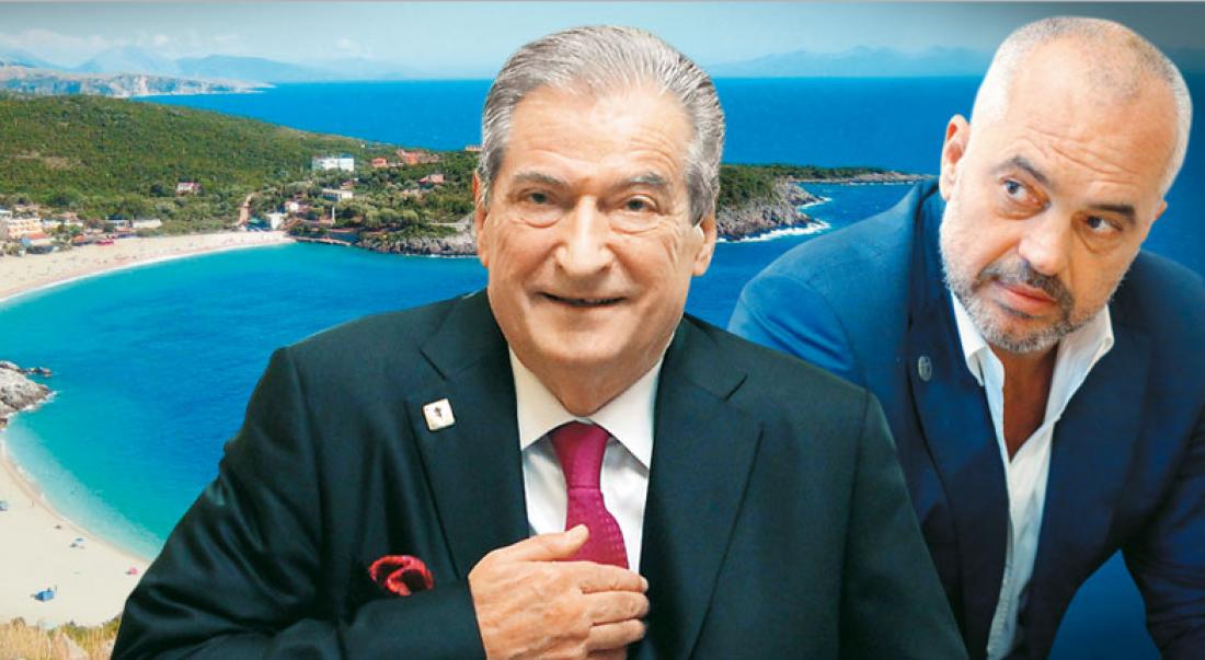 Ο πρώην πρωθυπουργός Σαλί Μπερίσα  κατηγορεί ευθέως τον νυν πρωθυπουργό Έντι Ράμα ότι λειτούργησε και μάλιστα έναντι αμοιβής για λογαριασμό της Τουρκίας προκειμένου να ακυρωθεί από το Συνταγματικό δικαστήριο η Ελληνοαλβανική συμφωνία για την οριοθέτηση των θαλασσίων ζωνών.