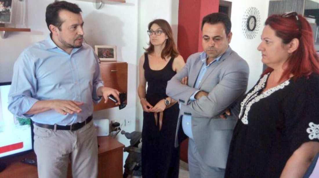 Νίκος Παππάς από την Τήλο για την παροχή δωρεάν δορυφορικής πρόσβασης στους ελληνικούς τηλεοπτικούς σταθμούς από την παραμεθόριο