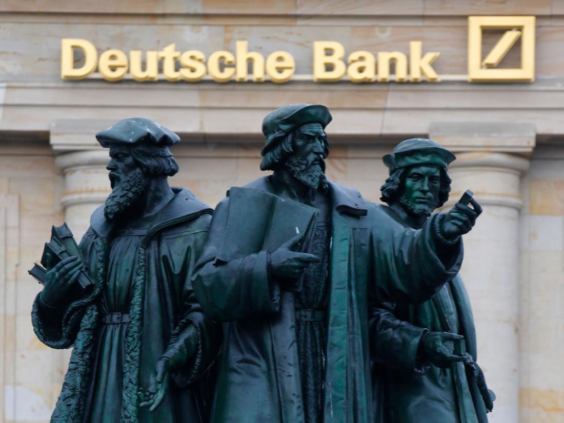 Πρόστιμο 157 εκατ. δολαρίων θα πληρώσει στην Κεντρική Τράπεζα των ΗΠΑ η Deutsche Bank