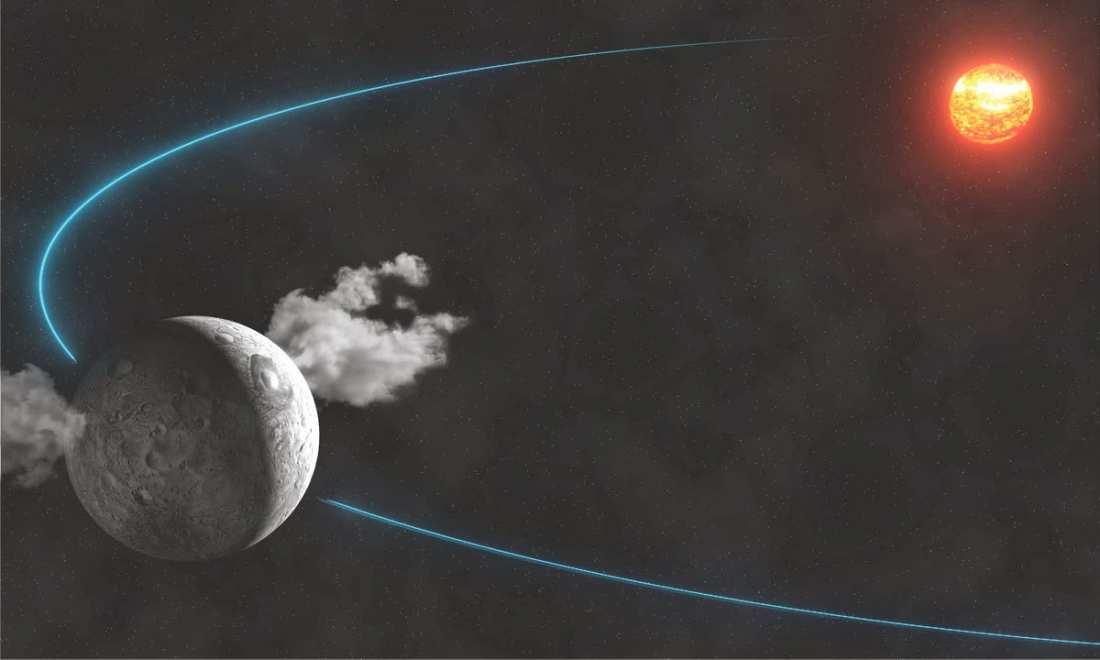 Νέες αποδείξεις για ύπαρξη νερού στο Διάστημα