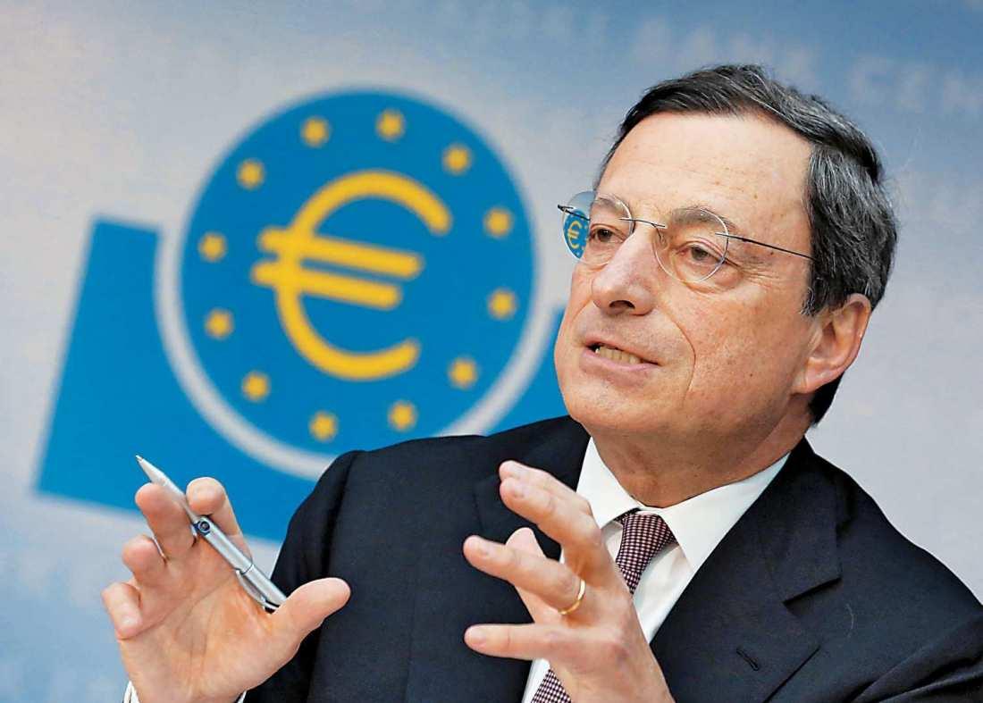 Μ. Ντράγκι: «Η κρίση της Ευρωζώνης ξεπεράσθηκε, η ανάκαμψη είναι όλο και πιο ευρεία και ισχυρή»