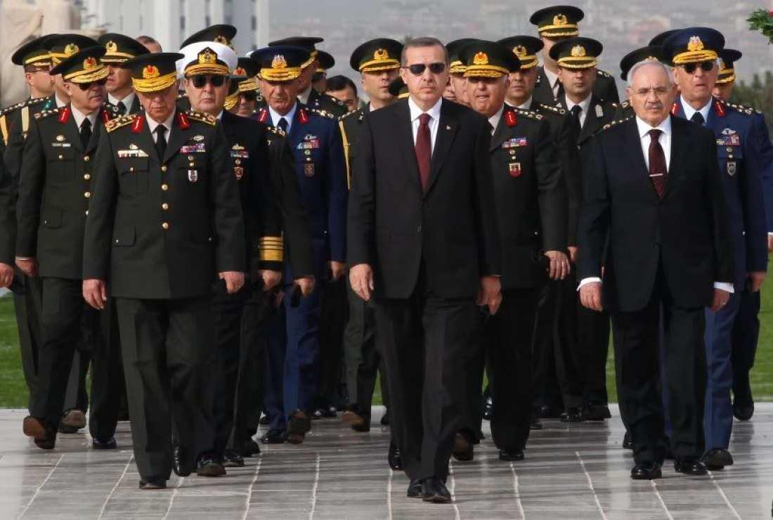 Αποτέλεσμα εικόνας για ερντογαν στρατηγοι