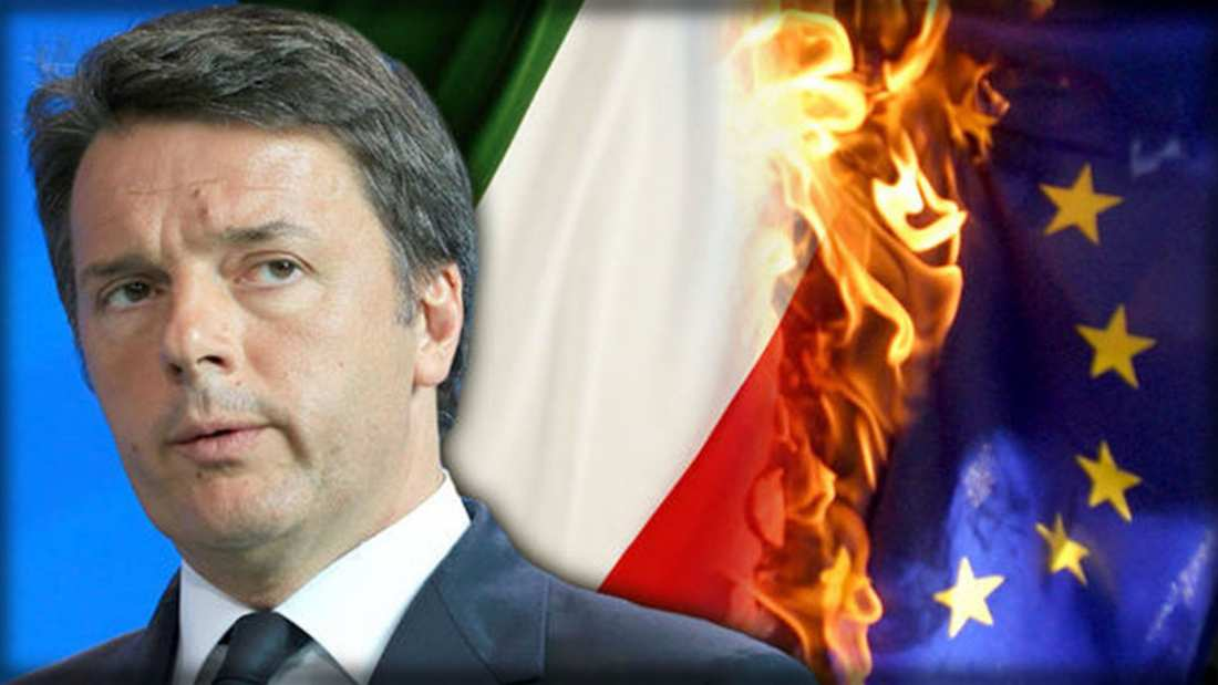 Financial Times:8 ιταλικές τράπεζες κινδυνεύουν με κατάρρευση αν ο Ρέντσι χάσει το δημοψήφισμα και παραιτηθεί – Πανικός στις τράπεζες της ευρωζώνης!