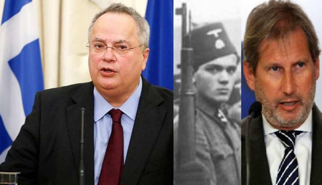 """Κοτζιάς σε Χαν: Για την Ελλάδα, δεν υπάρχει και δεν θα υπάρξει """"τσαμικό ζήτημα"""" ποτέ!"""