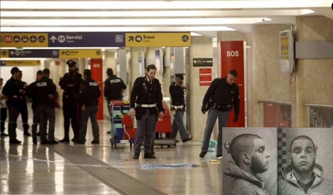 Ιταλία: Φιλοτζιχαντιστής ο Ιταλοτυνήσιος που μαχαίρωσε αστυνομικό και στρατιώτη