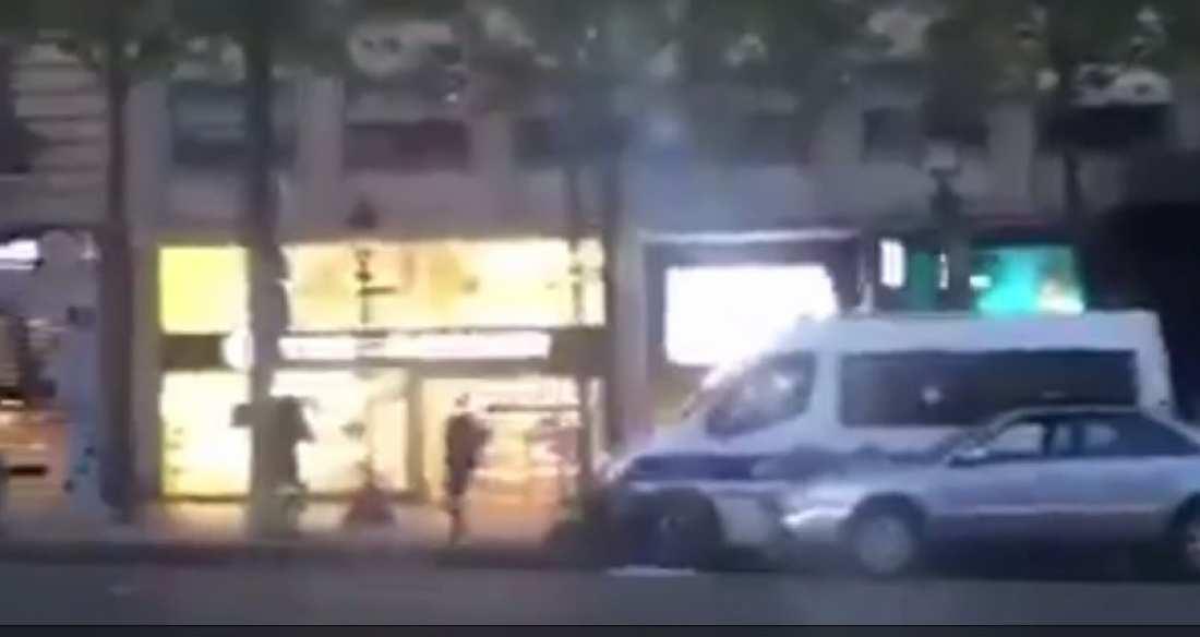 Τρομοκρατικό χτύπημα στο Παρίσι: Βίντεο - ντοκουμέντο με τον τζιχαντιστή - Ανοίγει πυρ εναντίον των αστυνομικών