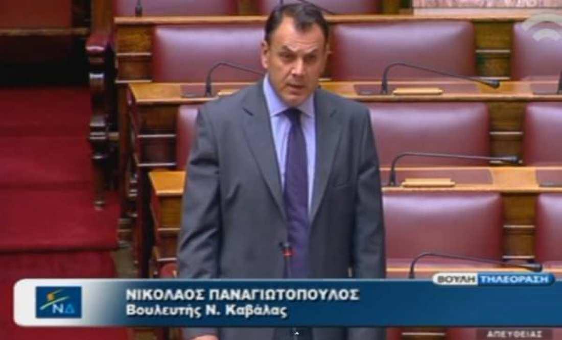 Παναγιωτόπουλος για Καμμένο: Μείζον θεσμικό ζήτημα όταν υπουργός «χτυπάει» τηλέφωνα μέσα στις φυλακές
