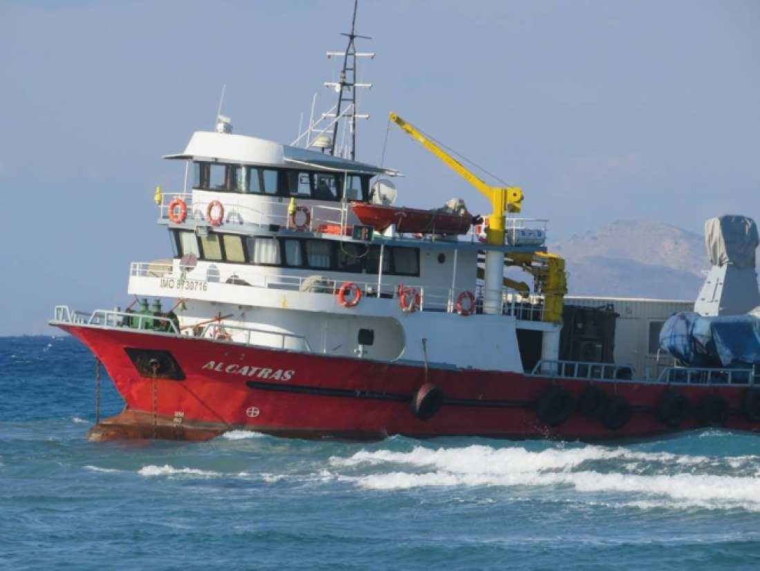 Αποτέλεσμα εικόνας για αντιπυραυλικό σύστημα που μετέφερε το σκάφος στο κατάστρωμα
