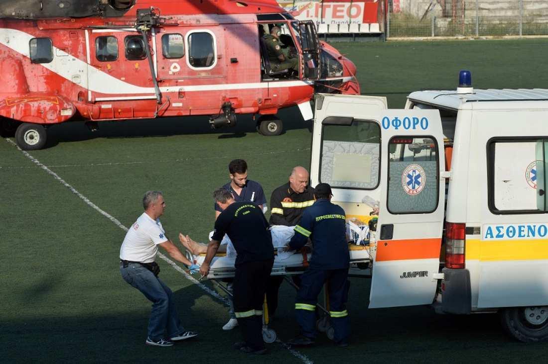 Βαρύ πένθος στην Πυροσβεστική-Κατέληξε ο πυροσβέστης που τραυματίστηκε από ανατροπή τρακτέρ στο Ζευγολατιό