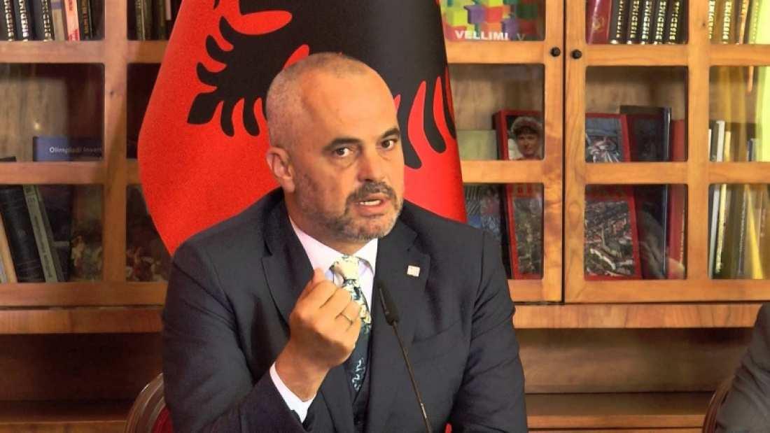Προκλήσεις και ειρωνείες κατά της Ελλάδας από τον Αλβανό πρωθυπουργό – Επαναφέρει το τσάμικο!