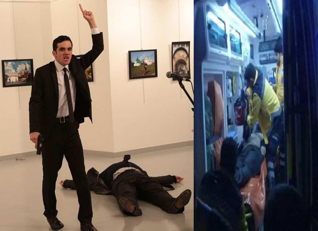 Αποτέλεσμα εικόνας για Δολοφονια Ρωσου πρεσβη στην Αγκυρα