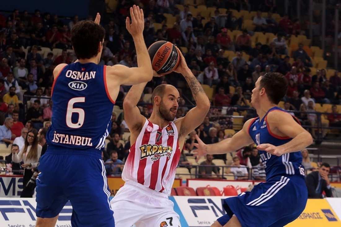 LIVE: Ολυμπιακός-Αναντολού Εφές (21:00, Novasports 2HD)