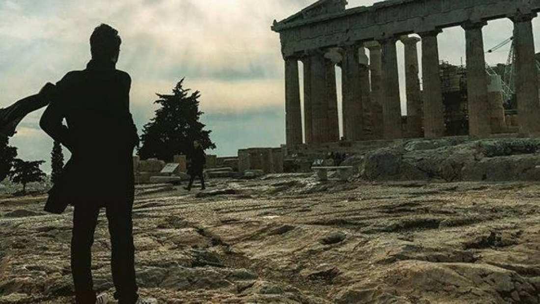 Star του Χόλιγουντ ήταν στην Αθήνα και ούτε που τον πήραμε είδηση