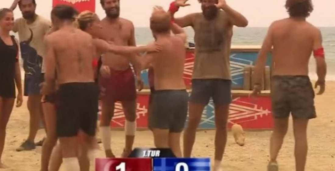 Survivor: Ξύλο Ντάνου και Μάριου με Τούρκο παίκτη