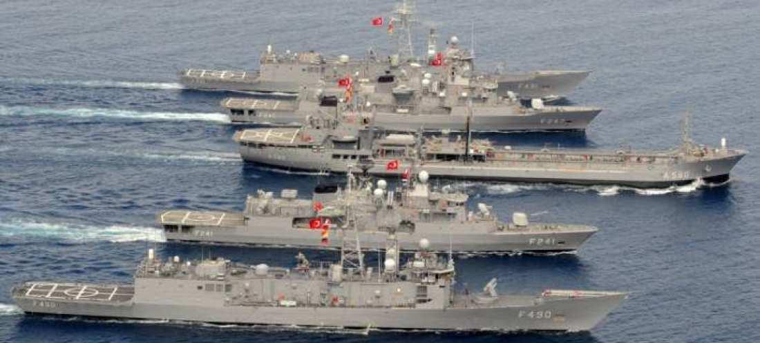 Τραβάνε το «σχοινί» οι Τούρκοι-Στέλνουν ως απάντηση πολεμικά πλοία στο σημείο που το Λιμενικό κατεδίωξε το πλοίο