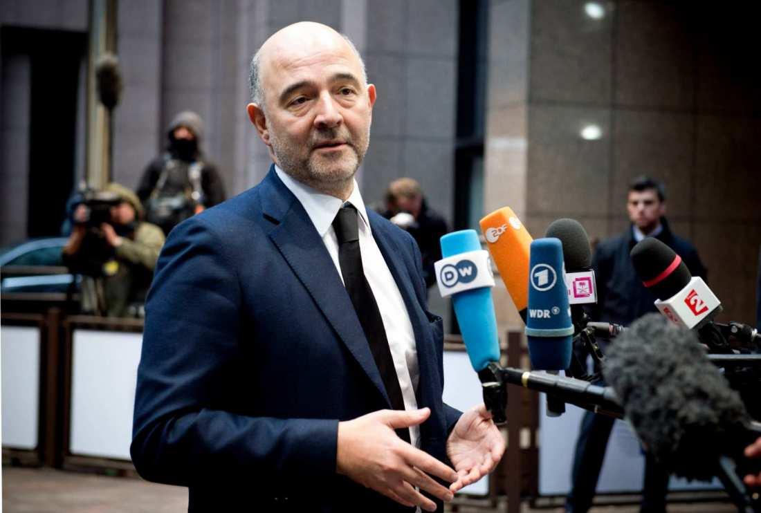 Έκκληση Μοσκοβισί στους εταίρους να καταλήξουν σε «συνολική» συμφωνία για την Ελλάδα