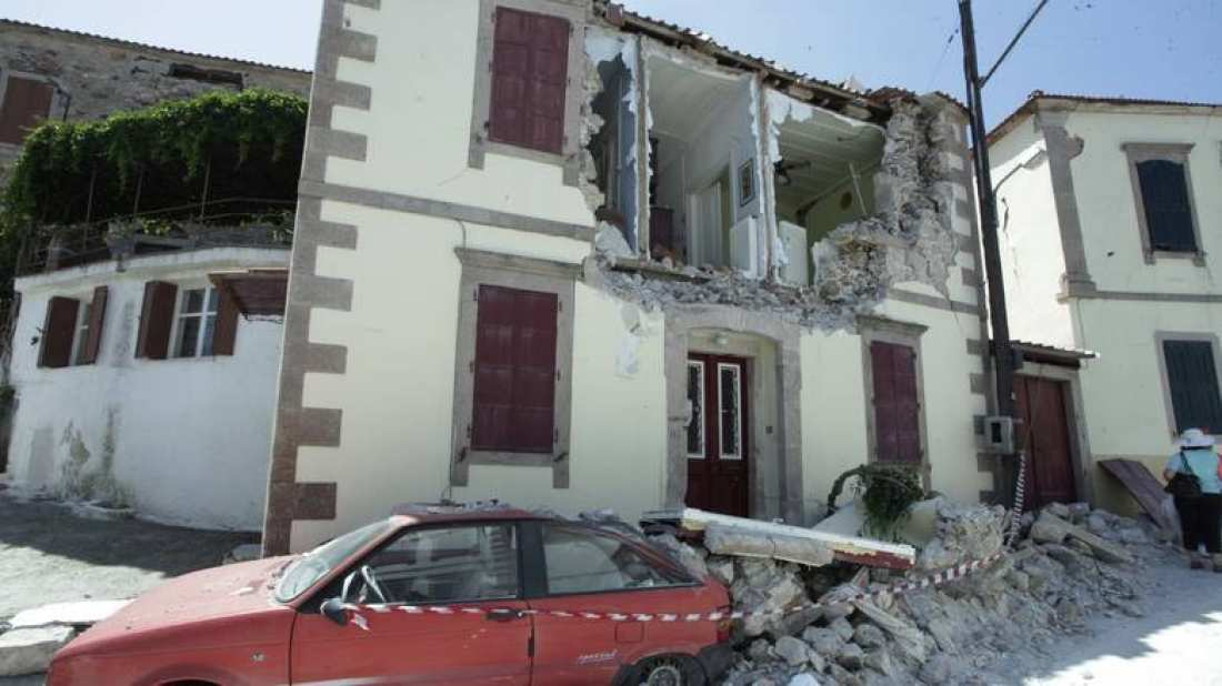 Σεισμός Μυτιλήνη: Έως και 690 κτίσματα χαρακτηρίζονται πλέον μη χρησιμοποιήσιμα