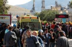Έκρηξη φιάλης υγραερίου με τραυματίες 3 υπαλλήλους στην Top Gas