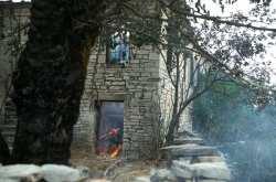 Δύο πυρκαγιές που μπήκαν στην χώρα μας από την Αλβανία, αντιμετωπίζουν δυνάμεις πυρόσβεσης στη Θεσπρωτία