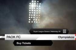Τα εισιτήρια για το ΠΑΟΚ-Ολυμπιακός