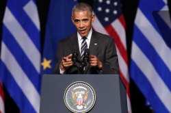 """Η αποχαιρετιστήρια ομιλία Ομπάμα στο Ίδρυμα """"Σταύρος Νιάρχος"""""""