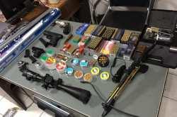Σχεδόν 200 συλλήψεις για τη νομοθεσία περί όπλων σε ευρείας κλίμακας αστυνομική επιχείρηση (ΦΩΤΟ)