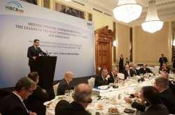 Στη Σερβία ο πρόεδρος της Νέας Δημοκρατίας, Κυριάκος Μητσοτάκης