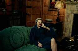 Η Τερέζα Μέι στην Vogue