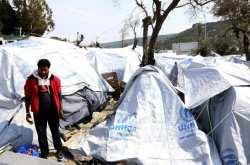 Συνεχίζουν στη Μόρια για 3η ημέρα σήμερα την απεργία πείνας οι 12 Κουρδοσύροι