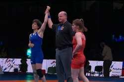 Το χάλκινο μετάλλιο κατέκτησε η Μαρία Πρεβολαράκη στο Ευρωπαϊκό πρωτάθλημα Πάλης Γυναικών