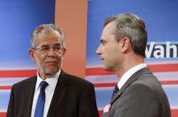 """Αυστρία-προεδρικές εκλογές: Νίκη του """"Πράσινου"""" Βαν ντερ Μπέλεν"""