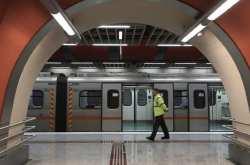 Ανοιχτοί τη νύχτα σταθμοί του μετρό λόγω ψύχους